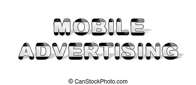 MOBILE ADVERTISING designed with sm
