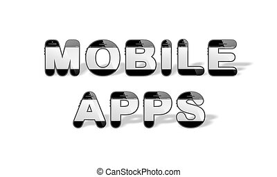 MOBILE APPS designed with smartphon