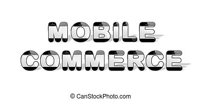 MOBILE COMMERCE designed with smart
