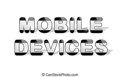 MOBILE DEVICES designed with smartp