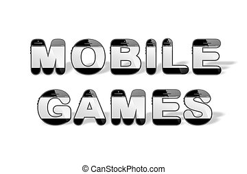 MOBILE GAMES designed with smartpho