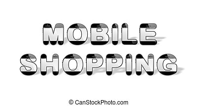 MOBILE SHOPPING designed with smart