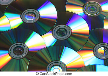 cd background - cd rainbow colors in natural light