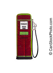 gasoline pump head - style vintage gasoline pump head...