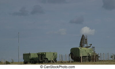 Mobile military air defence radar - Mobile military air...