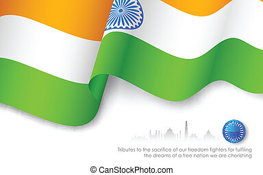 Indian Tricolor Flag
