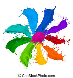 paint splash collection
