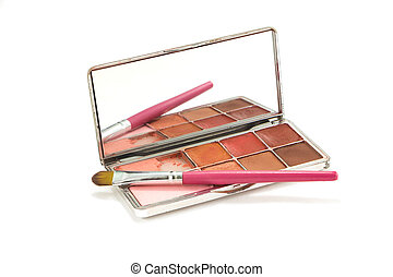 Palette of lipstick