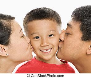 Besar, padres, hijo