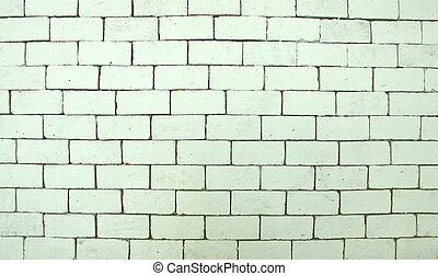 brick wall - white brick wall background