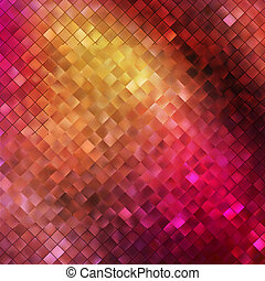 Pink glitters on a soft blurred background. EPS 10 - Pink...