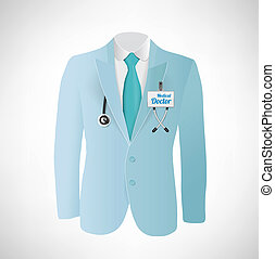 Blue suit Doctor