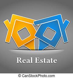 Real estate emblem design