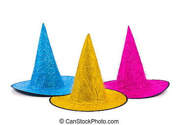 Party hat isolated on white background
