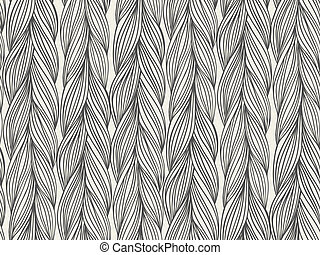 Seamless pattern imitation with braids - Texture for web,...