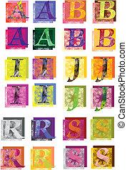 litery3 - litery wektorowe