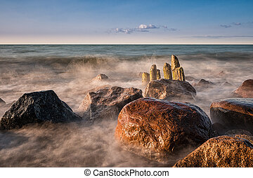 Baltic Sea - On shore of the Baltic Sea