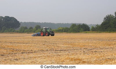Tractor on farm field - Common view