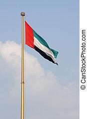 Flag of UAE - Flag of the United Arab Emirates