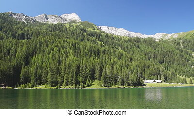 Lake in Austrian Alps - Common view