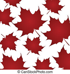 maple leaf isolated - Canada Day vector background