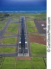空港,  maui, ハワイ \