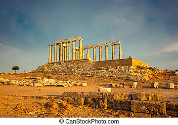 Ruins of Poseidon temple