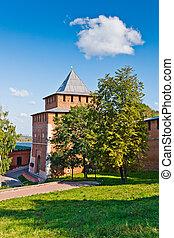 Nizhny Novgorod Kremlin, Russia - Ivanovskaya tower of...