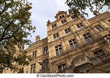 Castle of Schwerin in Germany