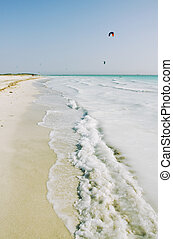 Kite surf in summer