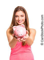 Savings concept