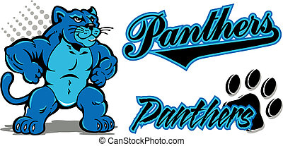 panther mascot and team name