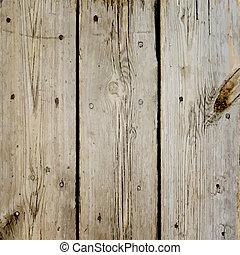 legno, assi, pavimento, vettore, struttura