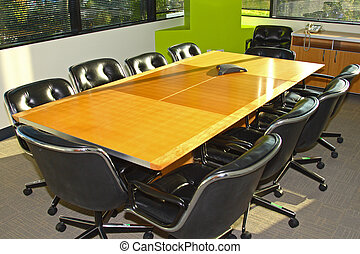 Conference Room - Executive office building's conference...
