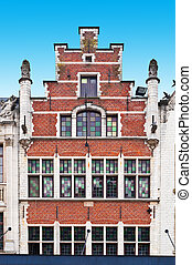 Gable - The Flemish Gable in the Belgium City