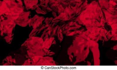 red Meteorite tumbling & 3d stone