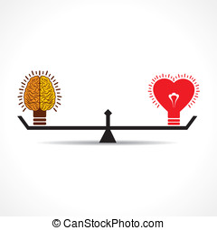 Brain and heart is equal weight age