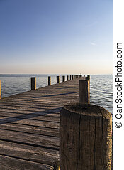 pier in Strandbadsiedlung