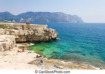 Calanques in Cassis, French Riviera