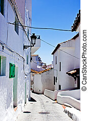 Spanish typical village - View of a spanish andalucian...
