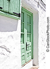 Spanish andalucian typical home vil - View of a spanish...
