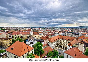 Cityscape of Brno, Czech Republic - Cityscape of Brno -...
