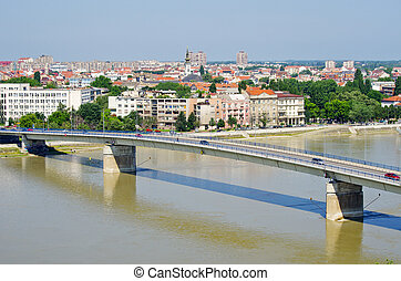 Cityscape of Novi Sad, Serbia - Cityscape in Novi Sad,...