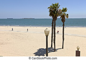 Long Beach california ocean view. - Long Beach California...