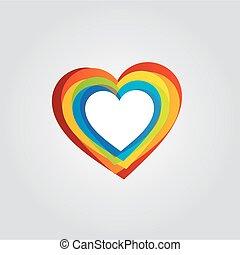 Heart text box