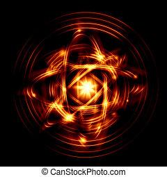 átomo, imagem