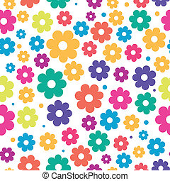 Cute floral seamless background