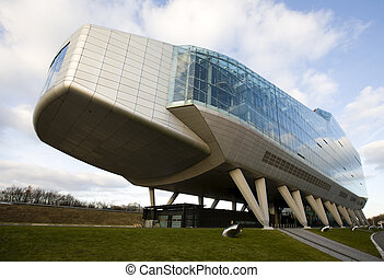 Modern office building in Amsterdam, Holland