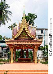 Vientiane - the capital of Laos