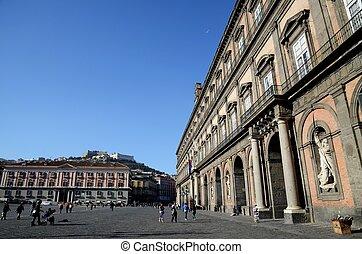 Palazzo Reale di Napoli,Naples,Italy - Palazzo Reale di...